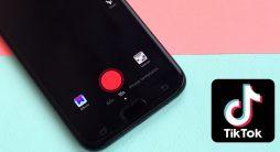 celular com rede social aberta - TikTok para empresas
